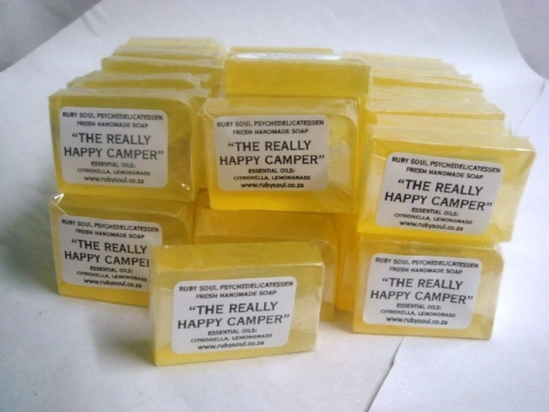 THE REALLY HAPPY CAMPER MINI SOAP 28-30g (batch of 60)